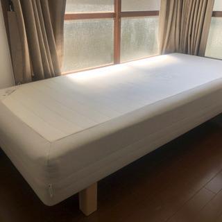 【ネット決済】IKEA マットレス脚付きベッド