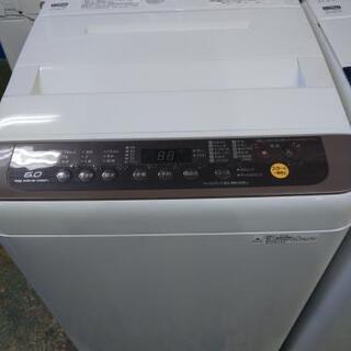 Panasonic 洗濯機 6.0k