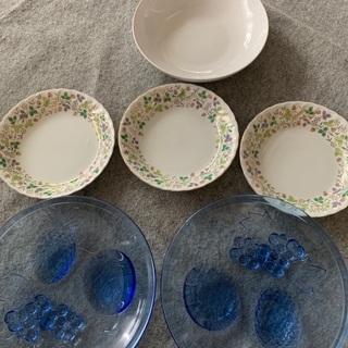 プレートお皿色々 大皿 5枚セット 中古品