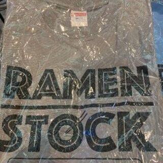 【ネット決済】RAMEN STOCK Tシャツ グレー  Sサイ...