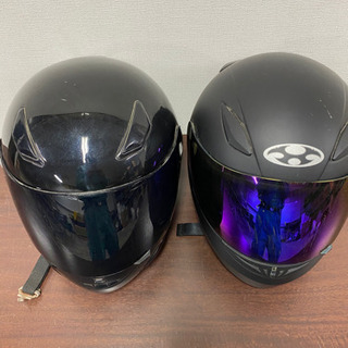 フルフェイスヘルメット2個