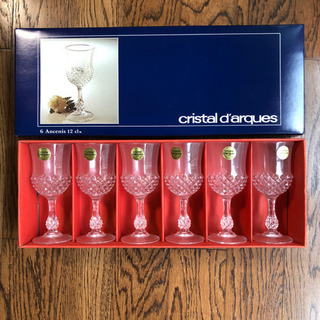 クリスタルダルク ワイングラス