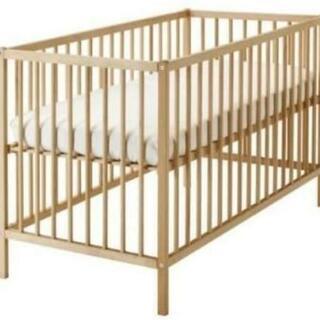IKEA 高さ調整可能なベビーベッド - 売ります・あげます