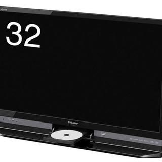 シャープ AQUOS LC-32DR9-B [32インチ ブラック系]