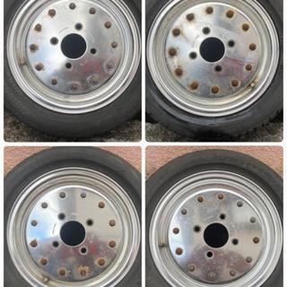 【ネット決済】希少 旧車 スピードスターマーク1  4本 錆汚れあり