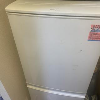 シャープ冷蔵庫&ハイアール洗濯機 無料で譲ります。