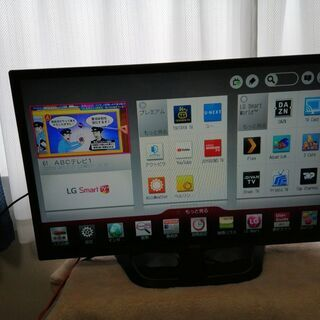 【お話中】LG 32インチ スマートTV テレビ 32LN570B 2013年 中古品 動作品 不具合無し 比較的美品の画像