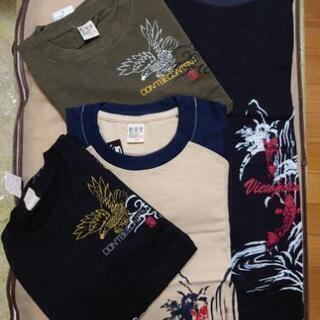 値下げ‼️新品‼️160cm  長袖Tシャツ4枚 半袖1枚