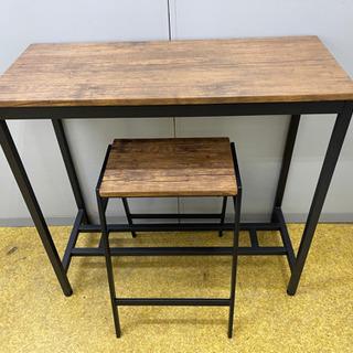 カウンターテーブル+椅子のセット NジュネスCT