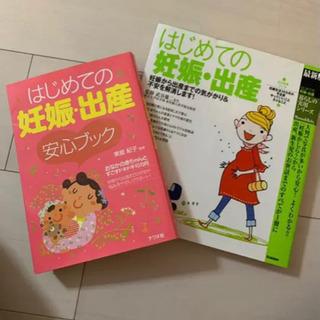 はじめての妊娠、出産ブック2冊