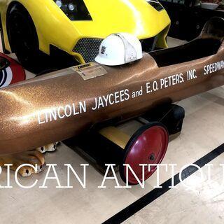 イリノイ州 レース使用品 全長215cm ソープボックス Lin...