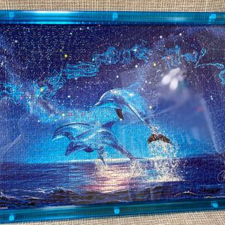 イルカの完成済みパズル