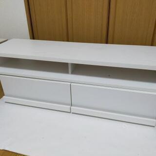 ホワイトテレビボード