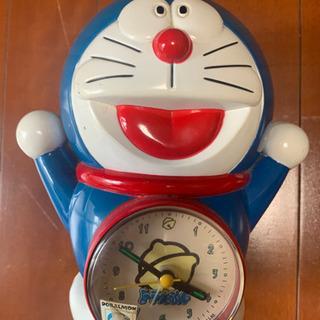 ドラえもん 目覚まし時計 時計 レトロ 置き時計