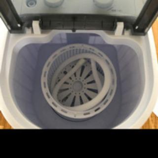 小型洗濯機 3キロ ダイヤル式 - コスメ/ヘルスケア