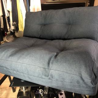 アイリスプラザ ソファ ベッド 座椅子 3WAY 折り畳み…