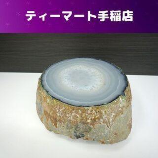 パワーストーン 【魅惑的なオブジェ】 瑪瑙 メノウ 約2.…