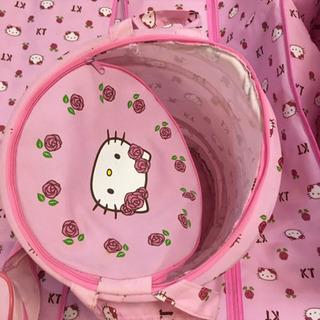 キティちゃん 衣類カバー 収納 バッグ セット - 名古屋市