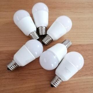 DAIKO(ダイコー)ミニクリプトン形 電球形LEDランプ(6個...