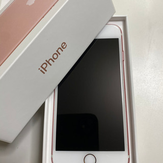 【美品】iPhone7 32GB ローズゴールド doco…