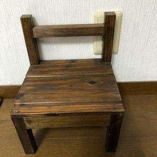 手作りのちっちゃな椅子