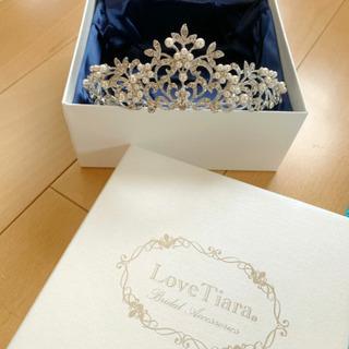 【ネット決済・配送可】ティアラ♡  結婚式