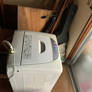 洗濯機 全自動 数日中に処分します 早い者勝ち