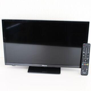 T822) ハイセンス デジタルハイビジョン液晶テレビ 24A5...