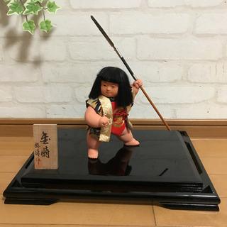 人形の好洋 五月人形 金太郎 6号 ケース入 正絹 - 京都市