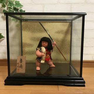 人形の好洋 五月人形 金太郎 6号 ケース入 正絹