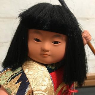 人形の好洋 五月人形 金太郎 6号 ケース入 正絹 - その他