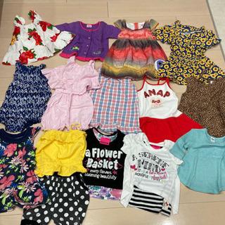 夏 女の子 子供服 80〜95