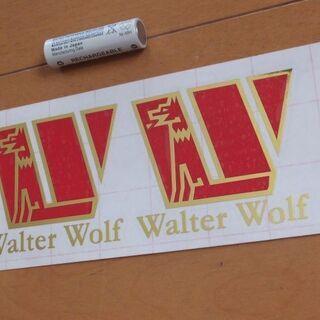 【ネット決済・配送可】【送料0円】ステッカー「WalterWol...