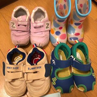 【ネット決済】14.0 ニューバランス、赤ほんオリジナル、長靴、...