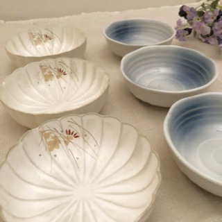 普段使いの小鉢と豆皿のセット 4種類 11点