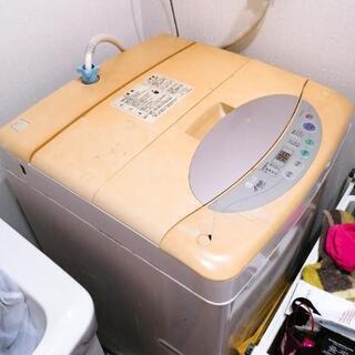 洗濯機 無料で差し上げます。