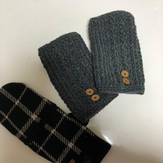 🎈新品coach手袋 左側+新品ハンドメイド手袋