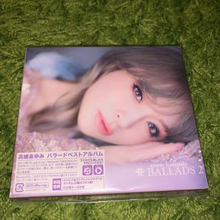 浜崎あゆみ A BALLADS 2 CD +Blu-ray新品同様