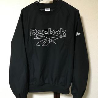 【一度のみの着用】Reebok プルオーバーシャツ メンズLサイズ