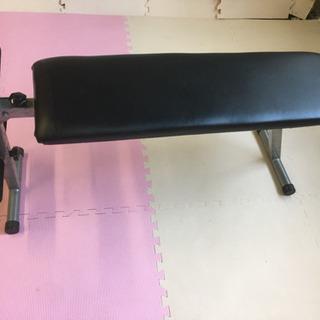 フラットベンチ シットアップベンチ ベンチプレス 筋トレの画像