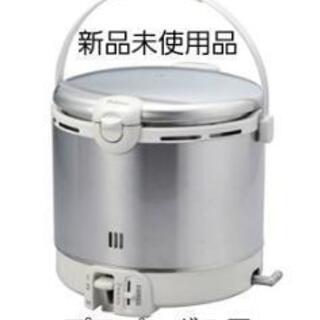 パロマガス炊飯器 新品未使用品 市内ならお届けします。 - 売ります・あげます