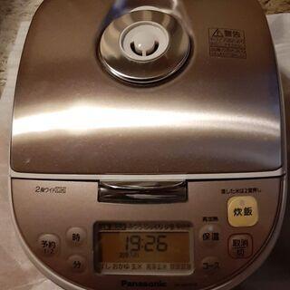 5.5合 IHジャー炊飯器 Panasonicの画像