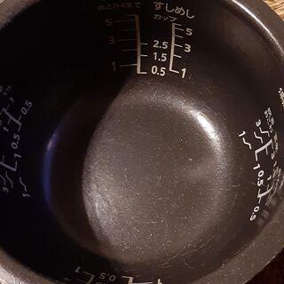 5.5合 IHジャー炊飯器 Panasonic - 家電