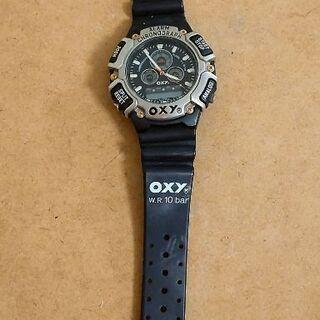 懐かしいタイプのデジタル時計:電池を入れてベルトを変えれば…