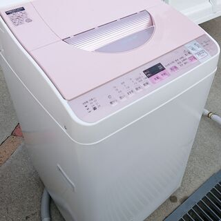 激安特価!!☆2017年製 SHARP 洗濯乾燥機 5.5kg☆