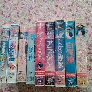 懐かしい VHSビデオ9本 - 春日井市