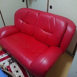 2人掛けソファーです取りに来られる方限定。