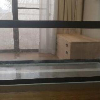 アクアリウム 水槽 6mm厚 120x45x45水槽 - 春日井市
