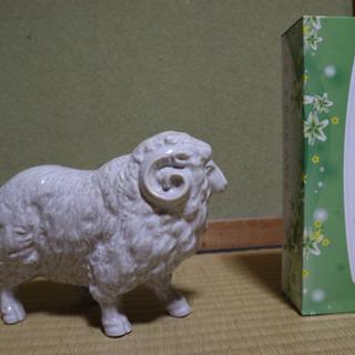 羊 馬 置物