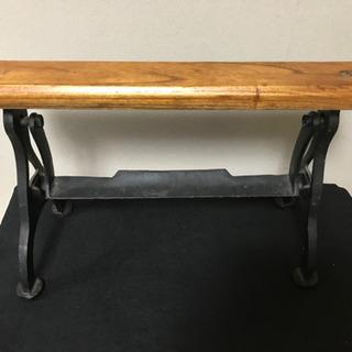 キッチンペーパーホルダー アンティーク 金属木製